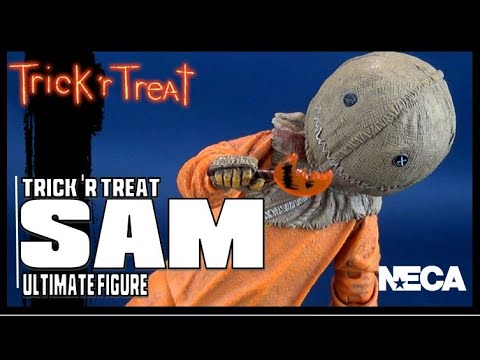 NECA Trick R Treat Ultimate Sam | Video Review HORROR