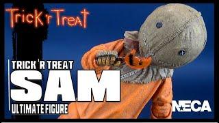 NECA Trick R Treat Ultimate Sam   Video Review HORROR