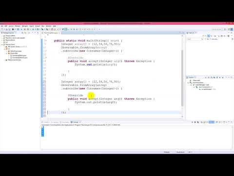 Create an Observable from an array in rxJava 2