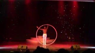 Tarik Abdurahman - Cyr Wheel - Stage Performance - 2015