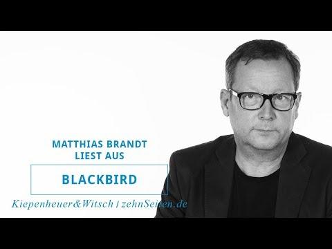 """Matthias Brandt liest aus """"Blackbird"""""""