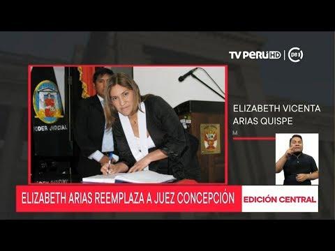 Concepción Carhuancho tendrá a Elizabeth Arias como su reemplazante en caso Cócteles