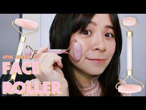 I Tried Rose Quartz Face Roller For A Week \\ JQLeeJQ