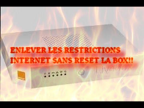 Tutopc comment enlever les restriction sans reset la box ou limites internet orange free - Comment avoir internet sans box ...