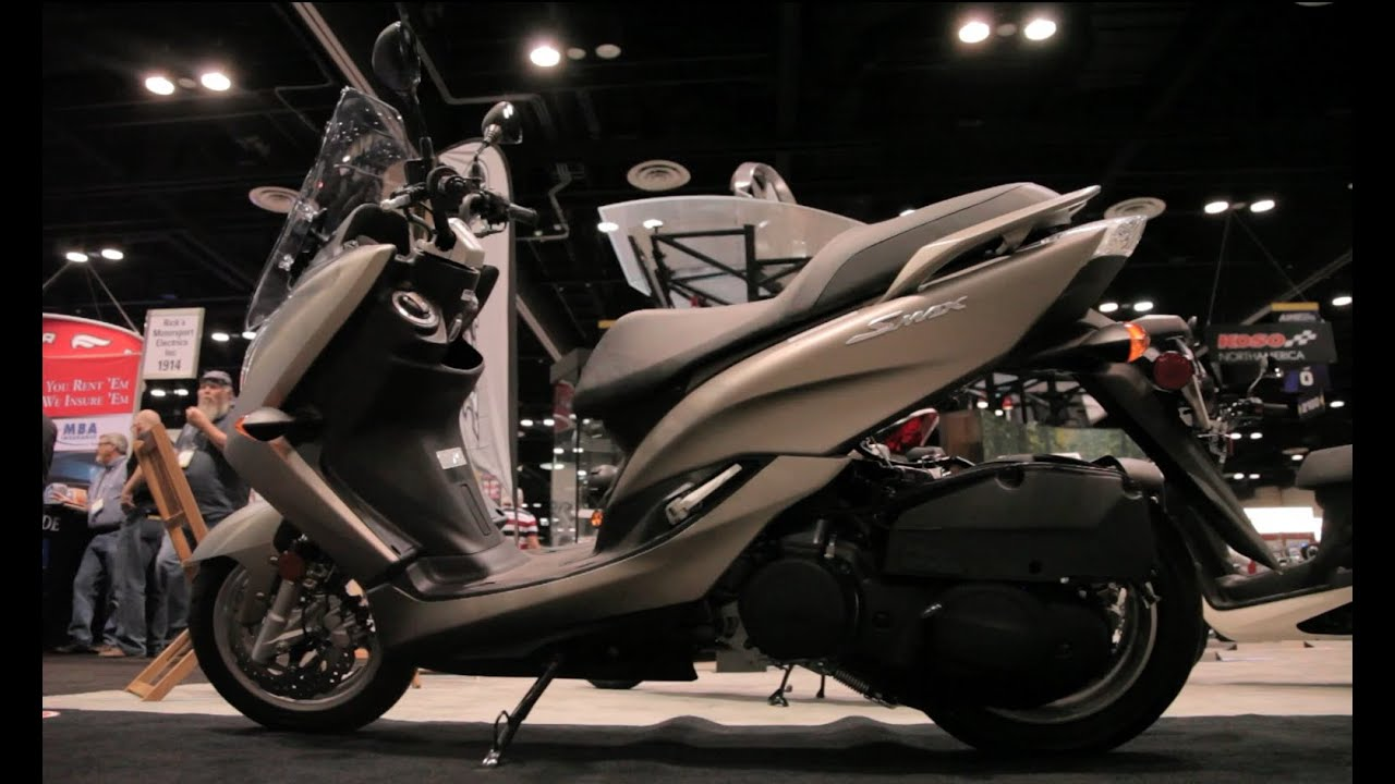 2015 yamaha smax 2014 aimexpo youtube. Black Bedroom Furniture Sets. Home Design Ideas