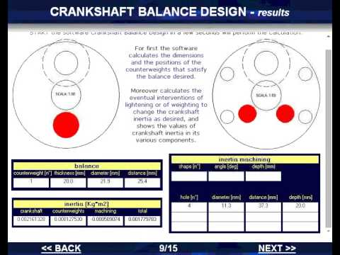 Software Crankshaft Balance Design - ENG