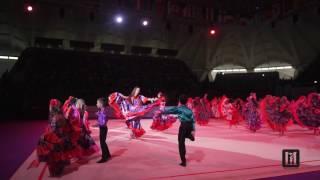 Смотреть видео ГРАН-ПРИ МОСКВА 2017 / Показательное выступление онлайн