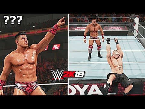 WWE 2K19: Is It Possible to EC3 to Eliminate 9 Legends from WWE 10 Man Royal Rumble Match?