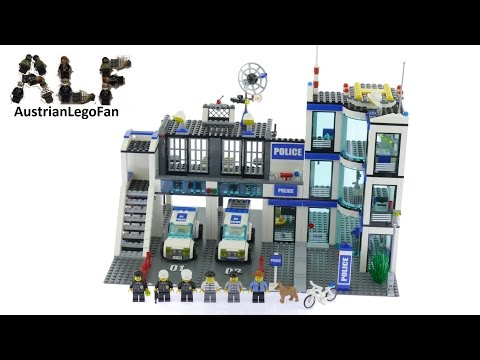 Lego City 7498 Police Station - Lego Speed Build Review