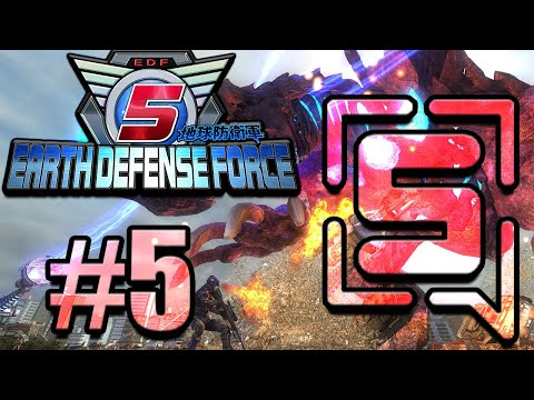 Earth Defense Force 5 - Stream VOD #5 thumbnail