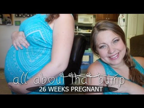 26 WEEKS PREGNANT - ALL ABOUT THAT BUMP - YouTube