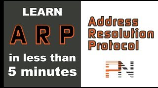 Address Resolution Protocol (ARP) in less than 5 minutes