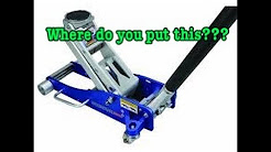 Where To Correctly Place A Floor Jack / Lift Points On Your BMW So You Do Not Damage Your Car !!!