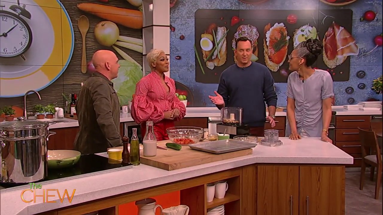 monica talks about her first big hit song on the chew youtube
