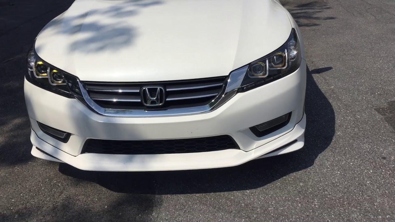 Honda Accord Sport Custom With Modulo Body Kit Walk Around