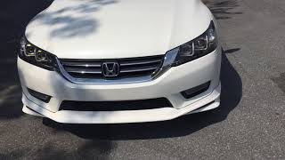 Honda accord sport custom with modulo body kit walk around