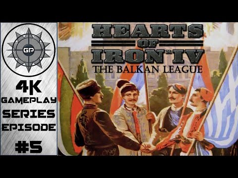 March to Vienna - Hearts of Iron IV The Balkan League 4K Series #5