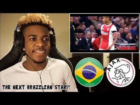 DAVID NERES - THE NEXT BRAZILIAN STAR? - SKILLS GOALS & ASSISTS - 2018 🇧🇷  Reaction