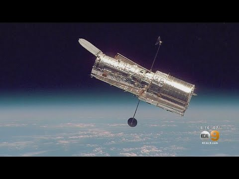 What Did The Hubble Space Telescope Take A Picture Of On Your Birthday?