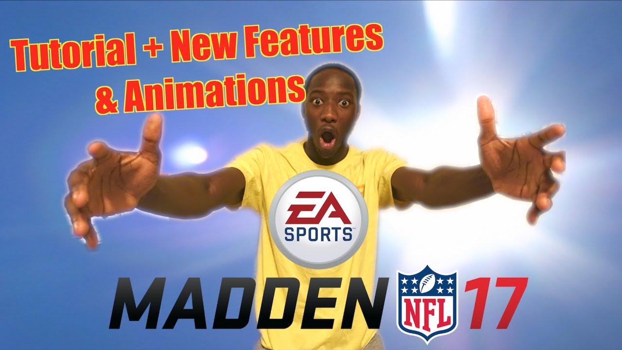 Madden 17 New Features : madden 17 tutorial new features animations youtube ~ Hamham.info Haus und Dekorationen