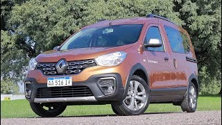 Renault Kangoo 1.6 Stepway - Test - Matías Antico - Tn Autos