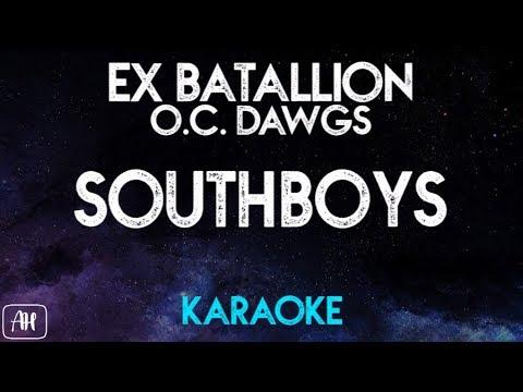 Ex Battalion/O.C Dawgs - South Boys (Karaoke/Instrumental)