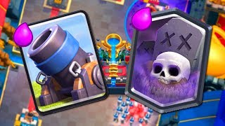 CLASH ROYALE | MORTERO + CEMENTERIO!!