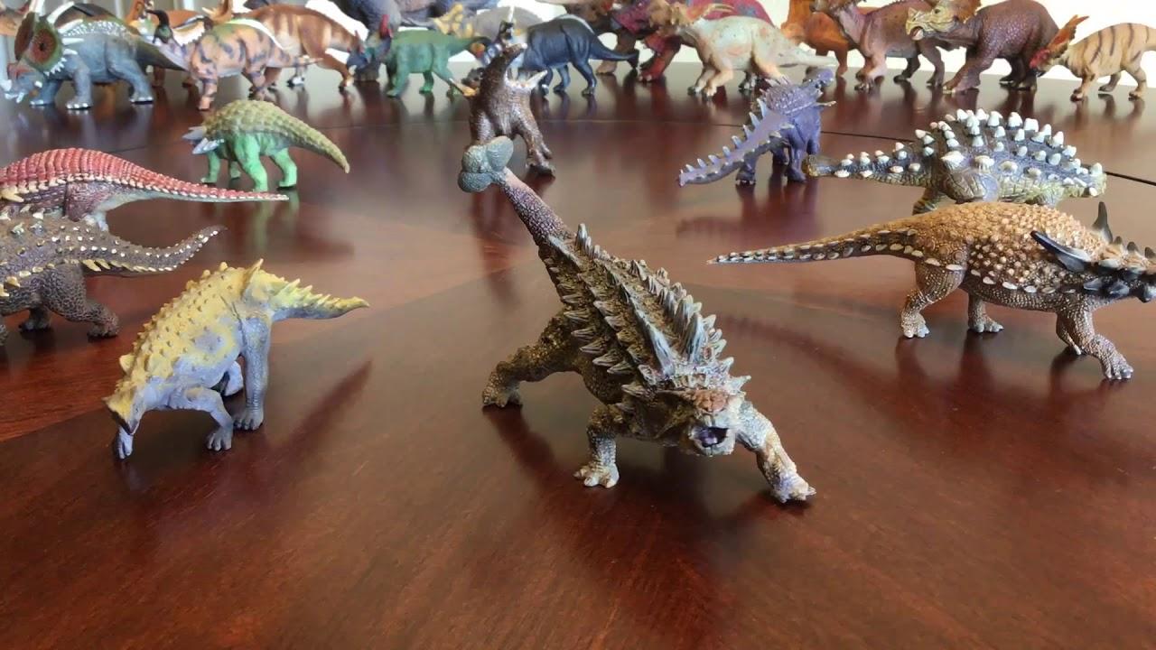 CollectA POLACANTHUS solid plastic toy DINOSAUR animal Ankylosaurus NEW *