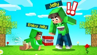 I Adopted A JELLY BABY In MINECRAFT! (Start A Family)