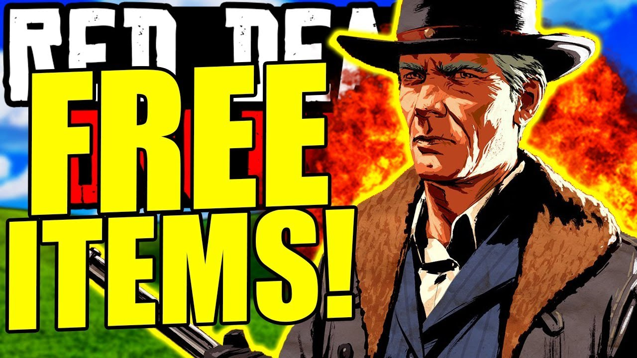 GET THE FREE ITEMS & NEW CLOTHING in New Red Dead Online