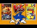 Sonic Forces VS Sonic Mania Nintendo Switch mp3