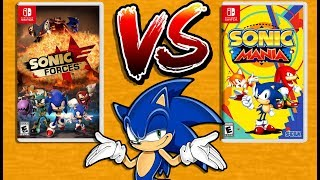 Sonic Forces Vs Sonic Mania  Nintendo Switch