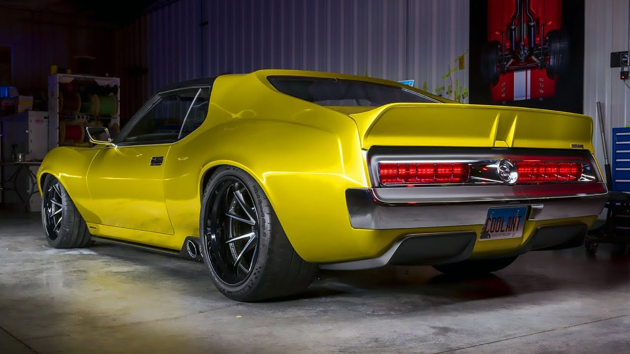 1 036 Hp Amc Javelin Amx Hellcat Power Youtube
