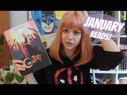 Comic & Graphic Novel Reviews | January 2017 Wrap Up!