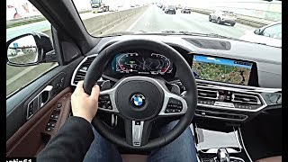 The New BMW X5 2019 POV Test Drive | GLE Q7 Cayenne Rival