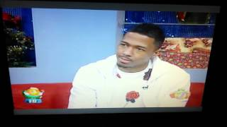 Nick cannon in Jamaica, on Smile Jamaica