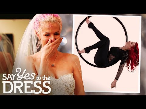 Fitness Instructor Wants to Get Married at Cirque Du Soleil! | Say Yes To The Vegas Dress