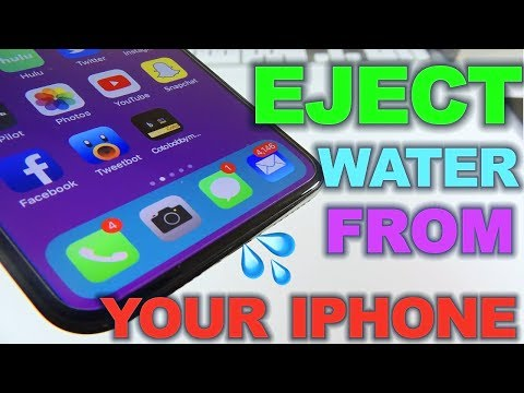 Eject Water From Your iPhone