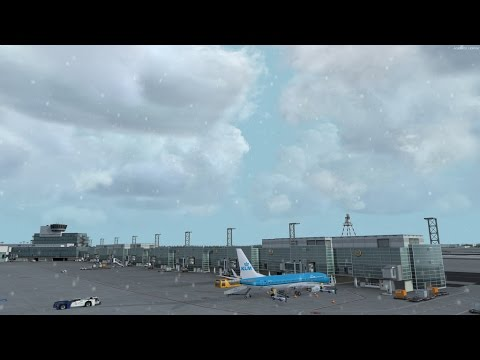 P3D v3 4 KLM 1774 Frankfurt to Amsterdam on vatsim with pmdg 737ngx and  fs2crew reboot