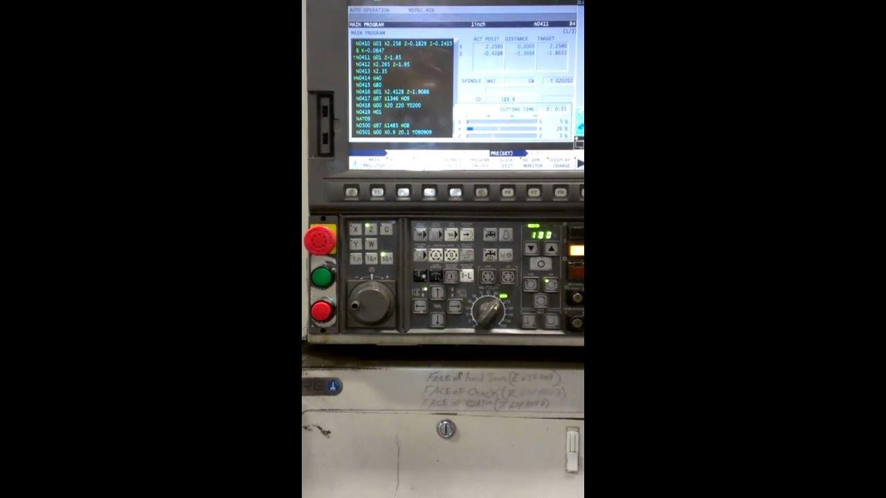 Okuma L-370 CNC Lathe