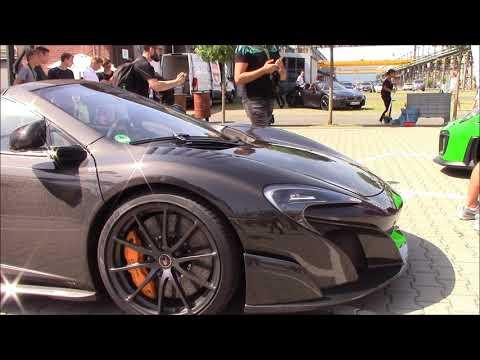1 Of 25 McLaren 675LT Spider Carbon Edition   Visits Cars & Coffee Dusseldorf