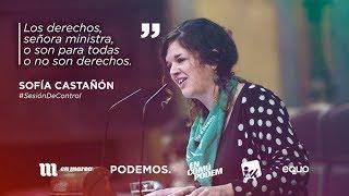 """Sofía Castañón: """"Educación sexual, anticonceptivos para no abortar y aborto para no morir"""""""