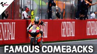 Famous Comebacks: Dani Pedrosa at Valencia 2012