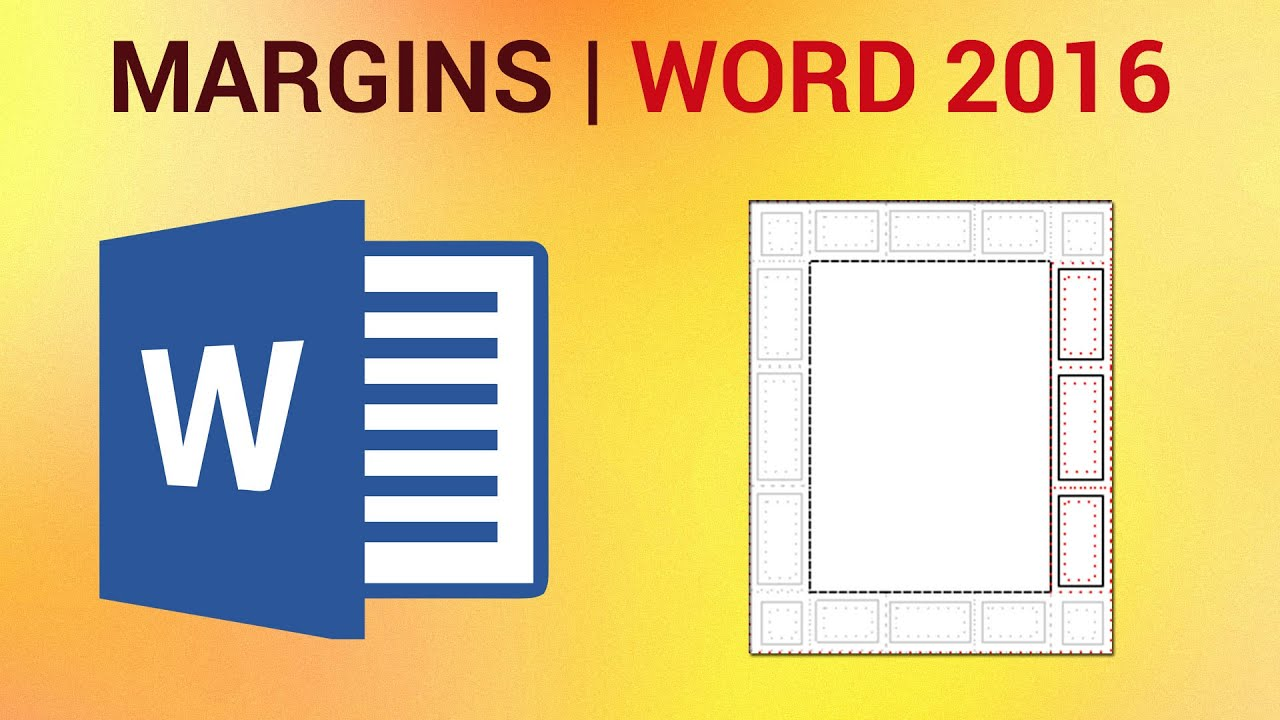 how to change margins in word 2016 - set and manage