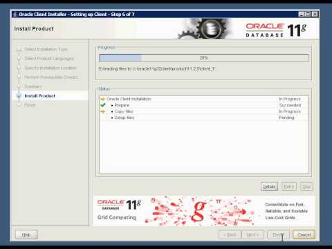 Install 32bit Oracle Client on Windows 2008