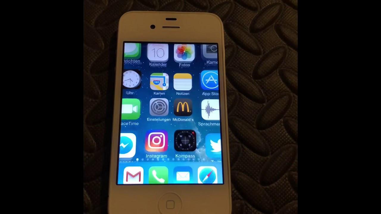 application on an iPhone ios 7 1 2