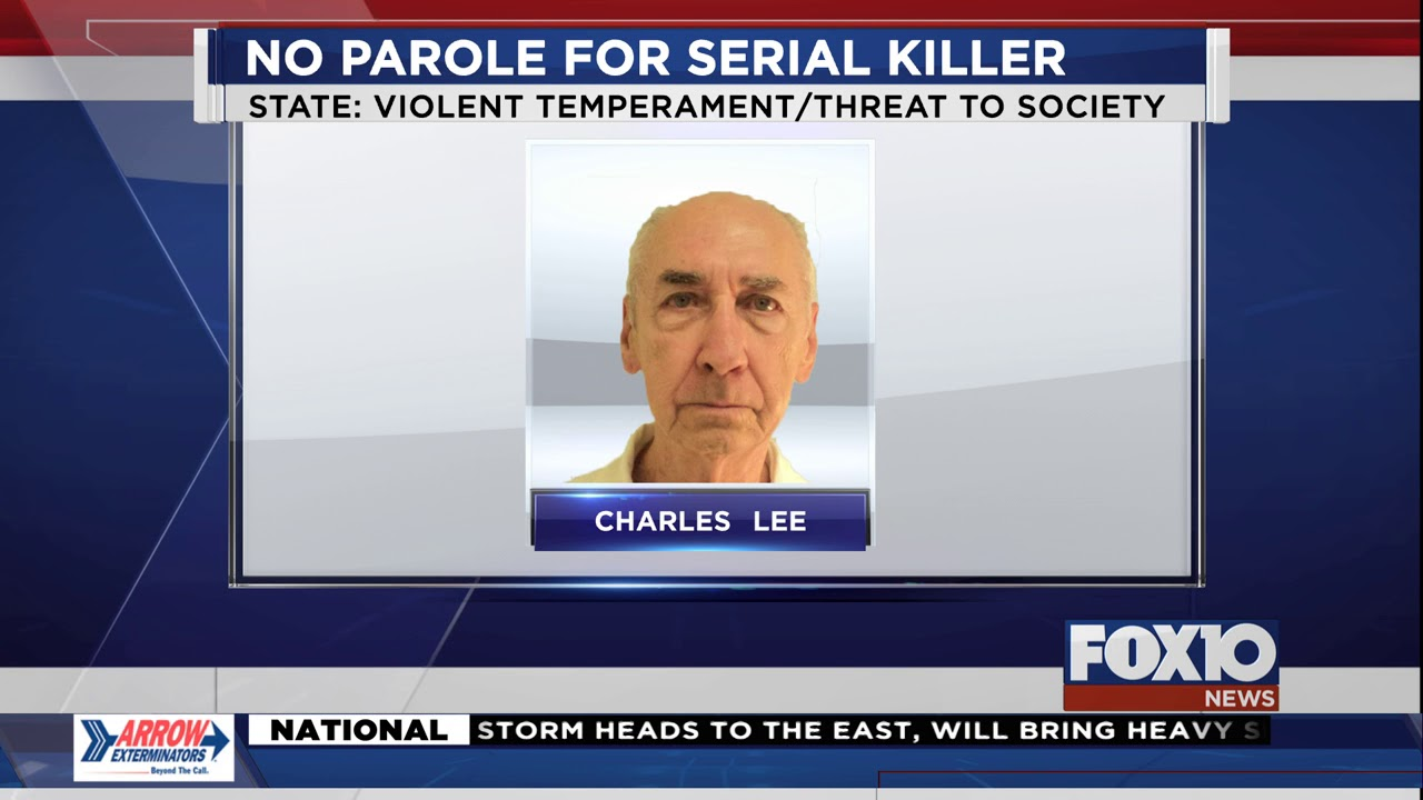 Crime: No parole for Mobile County, Alabama serial killer