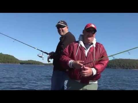 Quabbin Reservoir - Massachusetts  - GoFishDan -Smallies