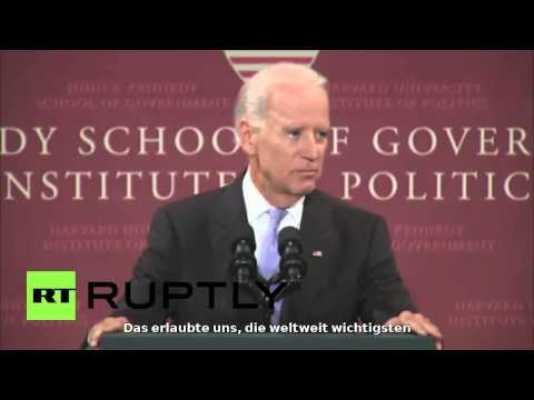 Joe Biden: Obama zwang die Europäer zu sanktionen gegen Russland