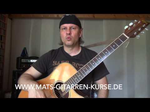 Open D Tuning   Was bedeutet das Gitarre stimmen 6